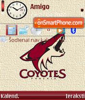 Phoenix Coyotes es el tema de pantalla