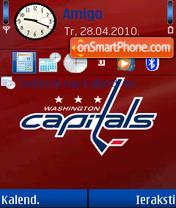 Washington Capitals 01 es el tema de pantalla