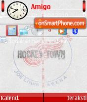 Detroit Red Wings 03 es el tema de pantalla