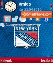 New York Rangers 02 es el tema de pantalla