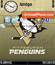 Pittsburgh Penguins 01 es el tema de pantalla