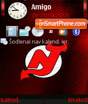 New Jersey Devils 02 theme screenshot