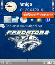 Nashville Predators 01 es el tema de pantalla