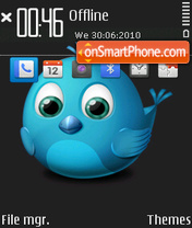 Twitter theme screenshot