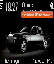 Rolls Royce 01 theme screenshot