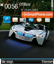 Скриншот темы Bmw Car 01