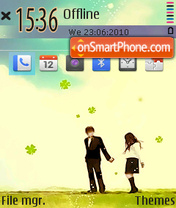 Forever love 02 es el tema de pantalla