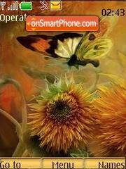 Скриншот темы Butterfly