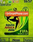 Fifa World Cup 2010 02 theme screenshot