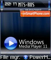 Wmp 11 s60 theme screenshot