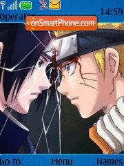 Naruto Vs Sasuke 04 theme screenshot