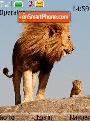 Lion 12 theme screenshot