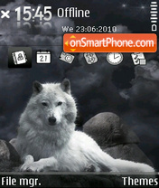 Night guard theme screenshot