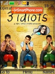 3 Idiots theme screenshot