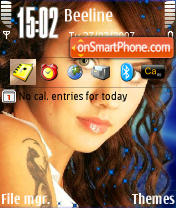 Maksim Gree N80 theme screenshot