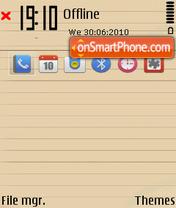 Скриншот темы Simplicity