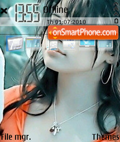 Скриншот темы Selena Gomez 01