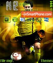Messi 04 theme screenshot