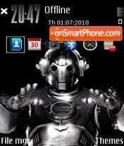 Cyberman theme screenshot