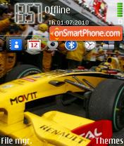 Renault F1 theme screenshot