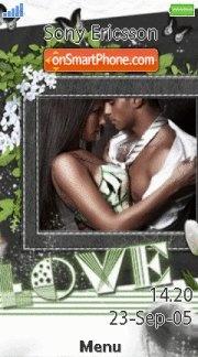 Love 03 es el tema de pantalla