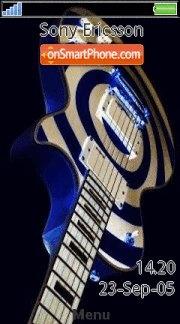 Guitar 12 es el tema de pantalla