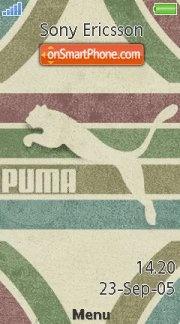 Puma 3260 es el tema de pantalla