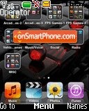 I Pod 3d Screen tema screenshot