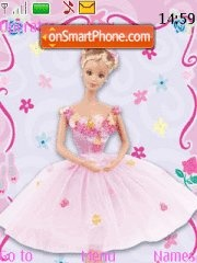 Скриншот темы Barbie 07
