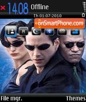 Matrix 06 theme screenshot