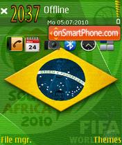 Brazil 2016 theme screenshot