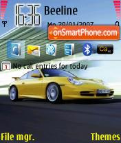 Porsche 02 es el tema de pantalla
