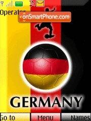 Germany Worldcup2010 tema screenshot