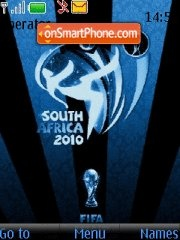 World cup 2010 tema screenshot
