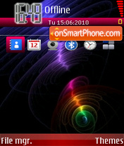 New wave 01 theme screenshot