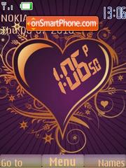 Heart (ar) theme screenshot