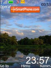 Capture d'écran Evening thème
