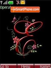 The letter E theme screenshot