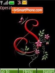 The letter S theme screenshot