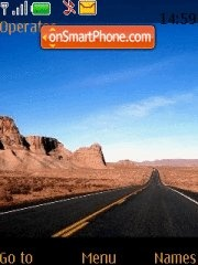 Road Trip theme screenshot
