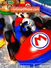 Mario Kart Wii theme screenshot