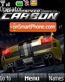 Nfs Carbon With Tone es el tema de pantalla