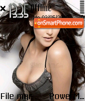 Neha Dupia theme screenshot