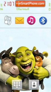 Shrek 06 theme screenshot