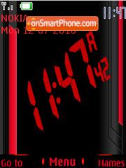 Red(AR) theme screenshot