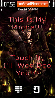 Скриншот темы Woo Doo
