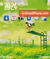Platform OVI FP1+FP2+MR theme screenshot