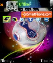 Adidas fifa theme screenshot