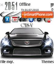 Cadillac CTS-V es el tema de pantalla