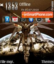 Gundam 07 theme screenshot